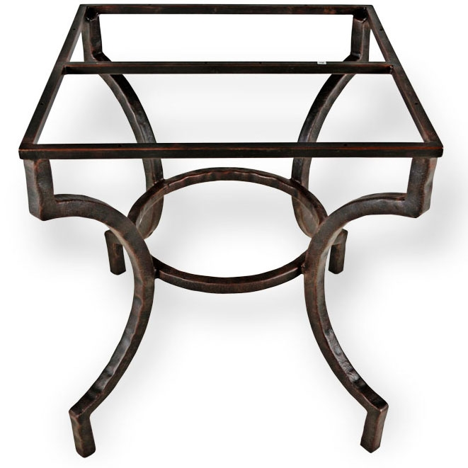 Corinthian Iron Dining Table Base