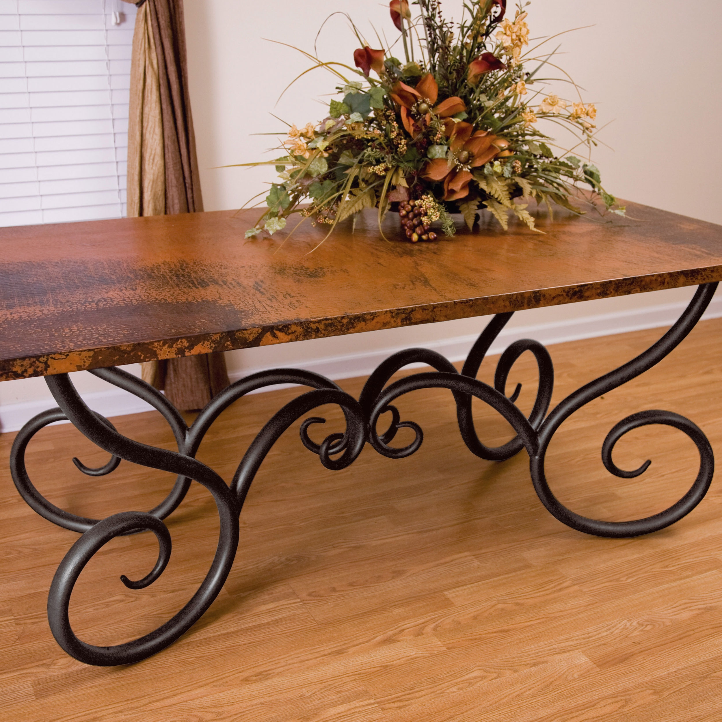 Rectangle Iron Dining Table Base