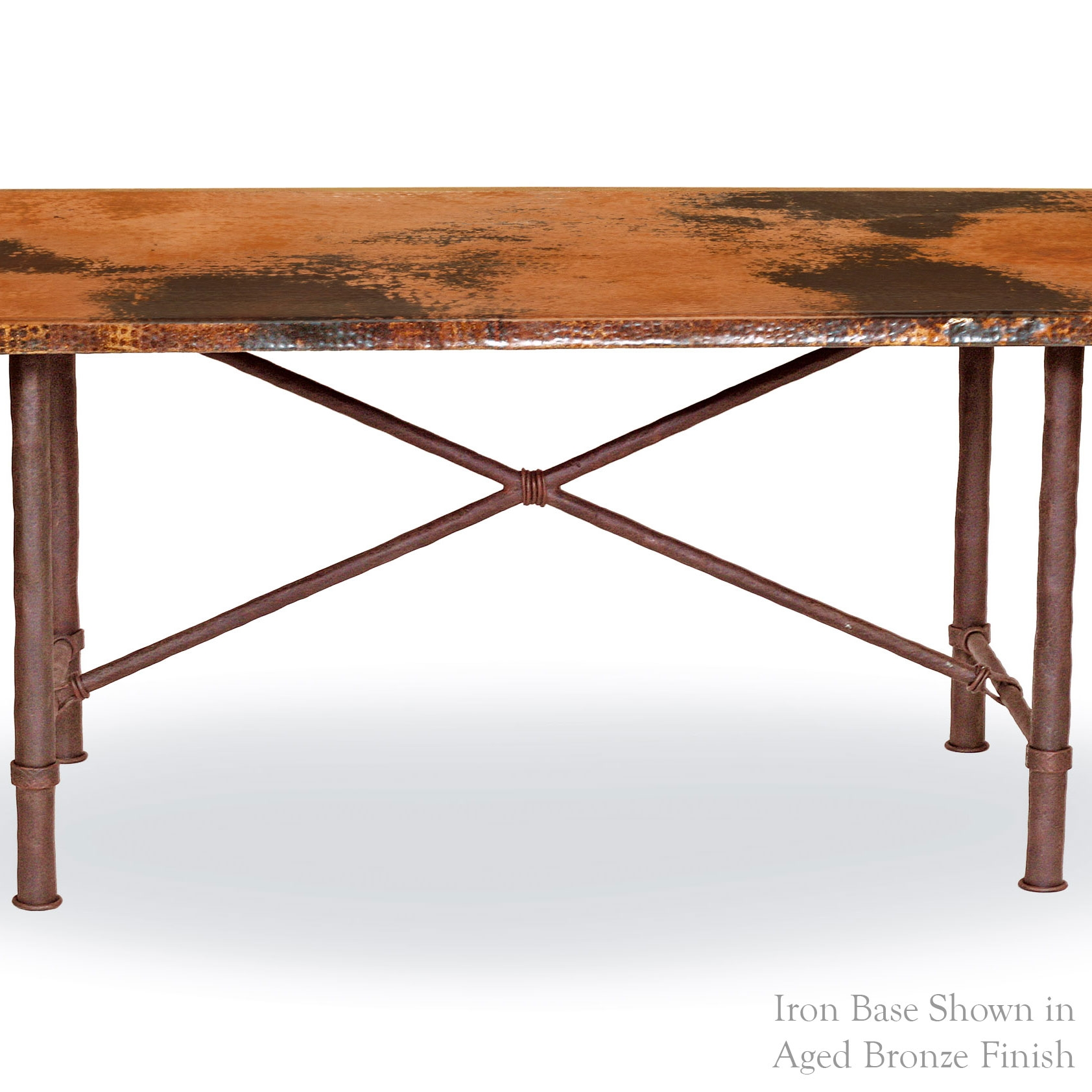Pictured Here Is The Burlington Dining Table Base Only Hand Crafted By  Skilled Artisan Blacksmiths From
