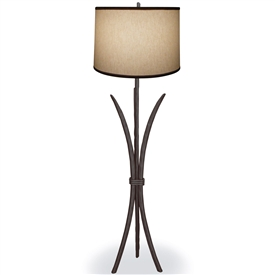 Pictured is our Contemporary style Salisbury Floor Lamp hand-made by Mathews & Co.