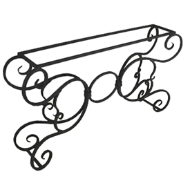 Super Console Table Bases Made Of Wrought Iron Gmtry Best Dining Table And Chair Ideas Images Gmtryco