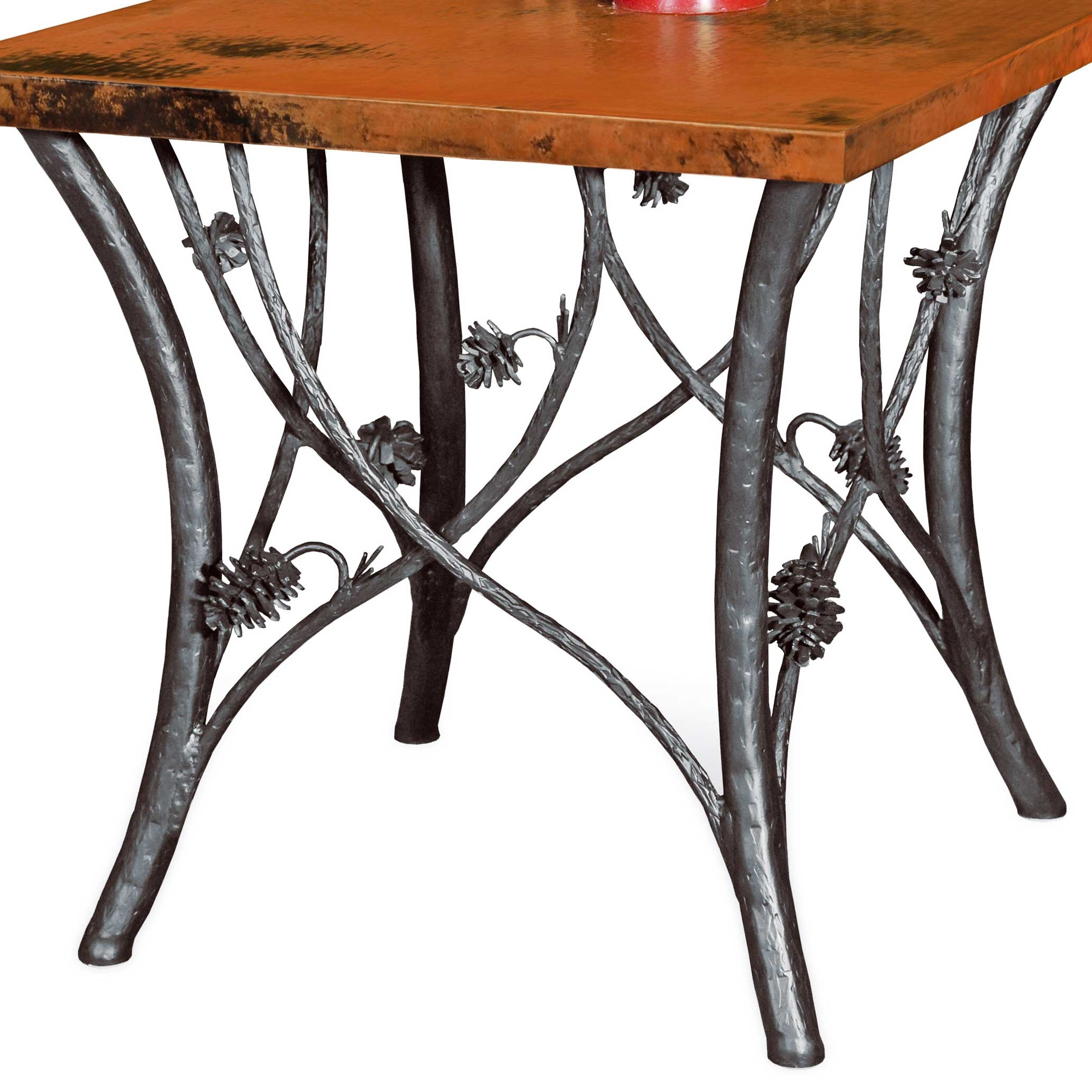 End Table Base Only Hand Crafted By Skilled Blacksmiths Larger Photo