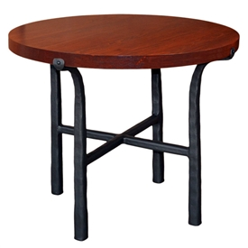 "Pictured here is the Cameron End Table with a 30"" Top by Mathews & Co."