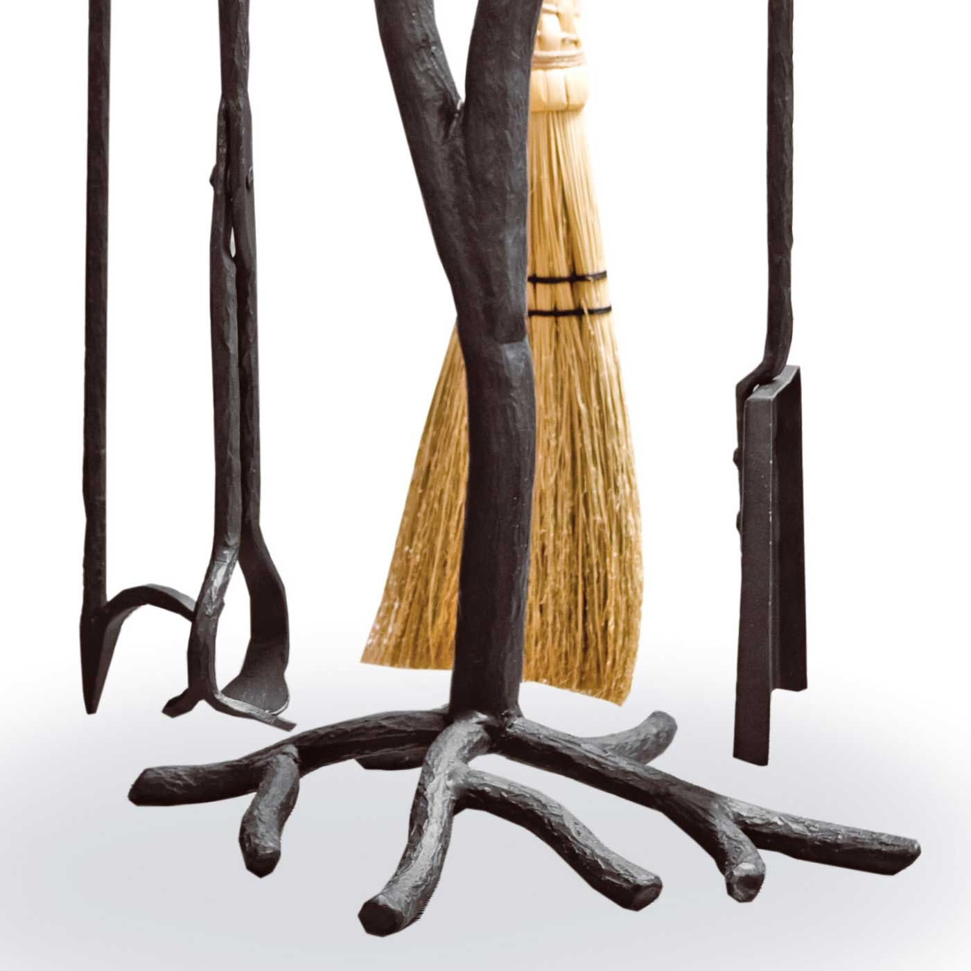 wrought iron southfork fireplace tool set free shipping www