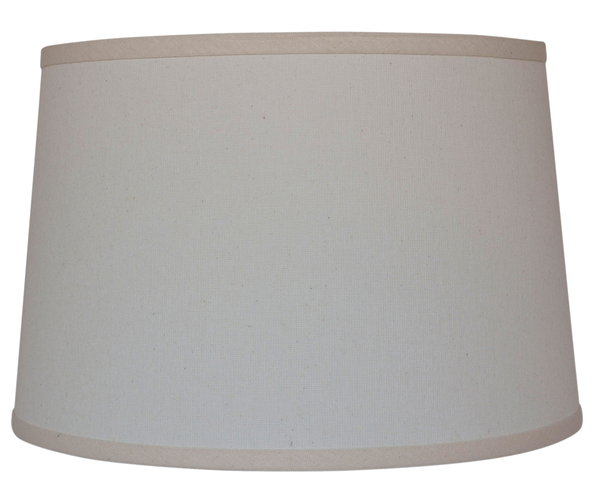 Natural Linen 13 Drum Table Lamp Shade
