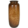 Pictured here is the handcrafted Small Ceramic Grain Jar in our Old World finish which measures 16 inches in diameter by 43 inches high.