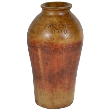 Pictured here is the Plantation Small Stoneware Jar from Mathews and Company