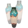 Pictured here is the Auburn Small Ceramic Urn from Mathews and Company