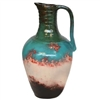 Pictured here is the Richland Medium Ceramic Jar with Handle from Mathews and Company