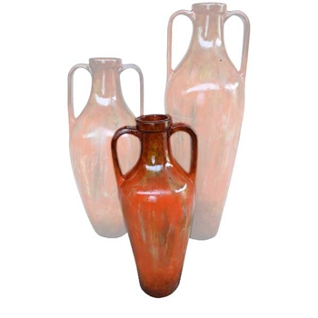 Pictured here is the Greek Small Ceramic Floor Urn from Mathews and Company