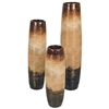 Pictured here is the Beehive Vases Set of 3 from Mathews and Company