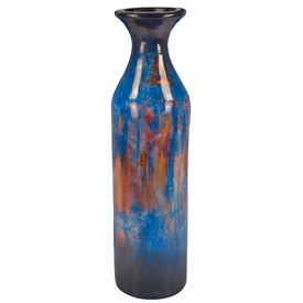 Pictured here is the Floor Ceramic Bottle Small from Mathews and Company