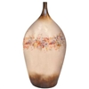 Pictured here is the handcrafted Desire Medium Ceramic Vase in our Poppycock finish which measures 17 inches in diameter by 36 inches high.