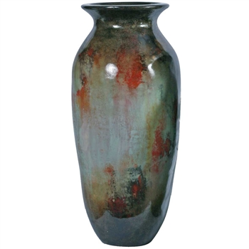 Pictured here is the Coco Large Ceramic Floor Jar from Mathews and Company