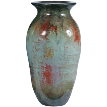 Pictured here is the Coco Small Ceramic Floor Jar  from Mathews and Company