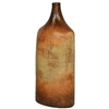 Pictured here is the Tuscan Small Ceramic Bottle in our grand canyon finish.