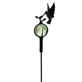 Wrought Iron Hummingbird - Marble Garden
