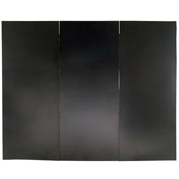 Pictured here is the 40-in x 32-in Fireplace Draft Guard Cover.