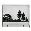 Pictured here is the Big Fish Scene Fireplace Screen.