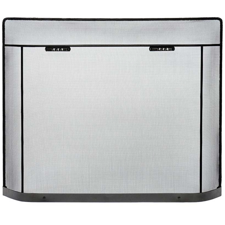 Pictured here is the Traditional Spark Guard Fireplace Screen.