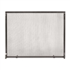Pictured here is the 50-in X 36-in Colonial Flat Fireplace Screen .