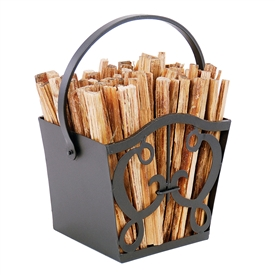 Pictured here is the Cypher Fatwood Carrier which Includes 4 pounds of kindling