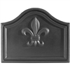 Pictured here is the Fleur De Lys Fireback that measures 20-inch x 16-inch