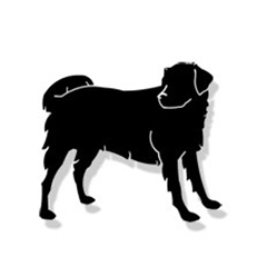 Wrought Iron Dog Magnet