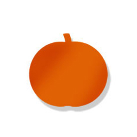 Wrought Iron Pumpkin ORANGE MMB Magnet