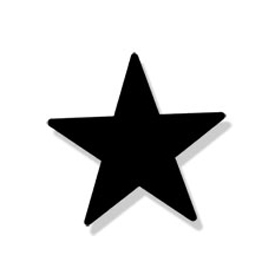 Wrought Iron Star Magnet