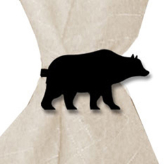 Wrought Iron Bear Napkin Ring