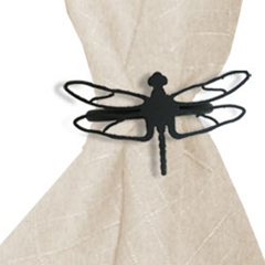 Wrought Iron Dragonfly Napkin Ring
