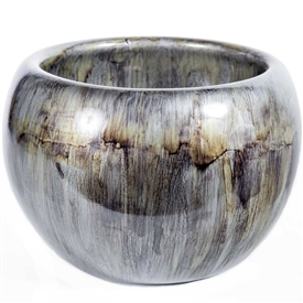 Pictured here is the Concord Decorative Glass Bowl, hand-made from recycled glass.
