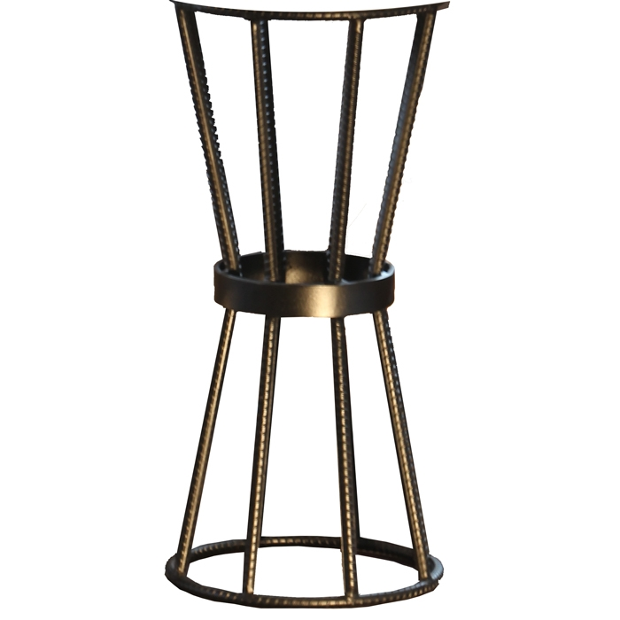 Pictured Is The Axel Accent Table In Rebar Base Available In 3 Finish  Options And Supports