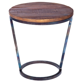 Pictured Is The Ayres Accent Table Base Available In 3 Finish Options And Supports A 18