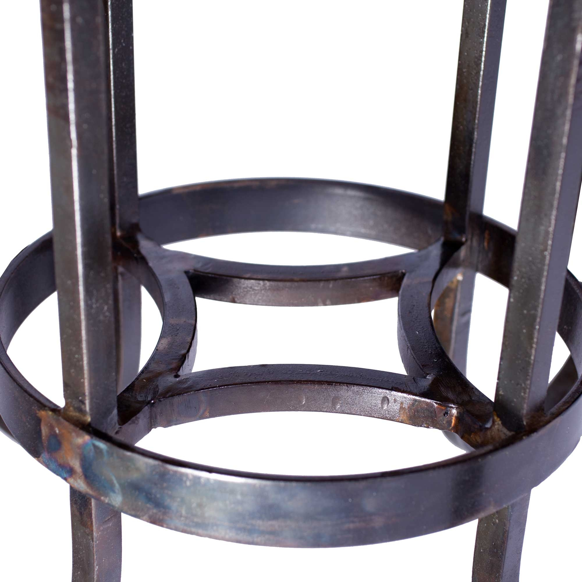 Marble Table Tops Round Curled Leg Iron Dining Table With 54 Round Marble Top