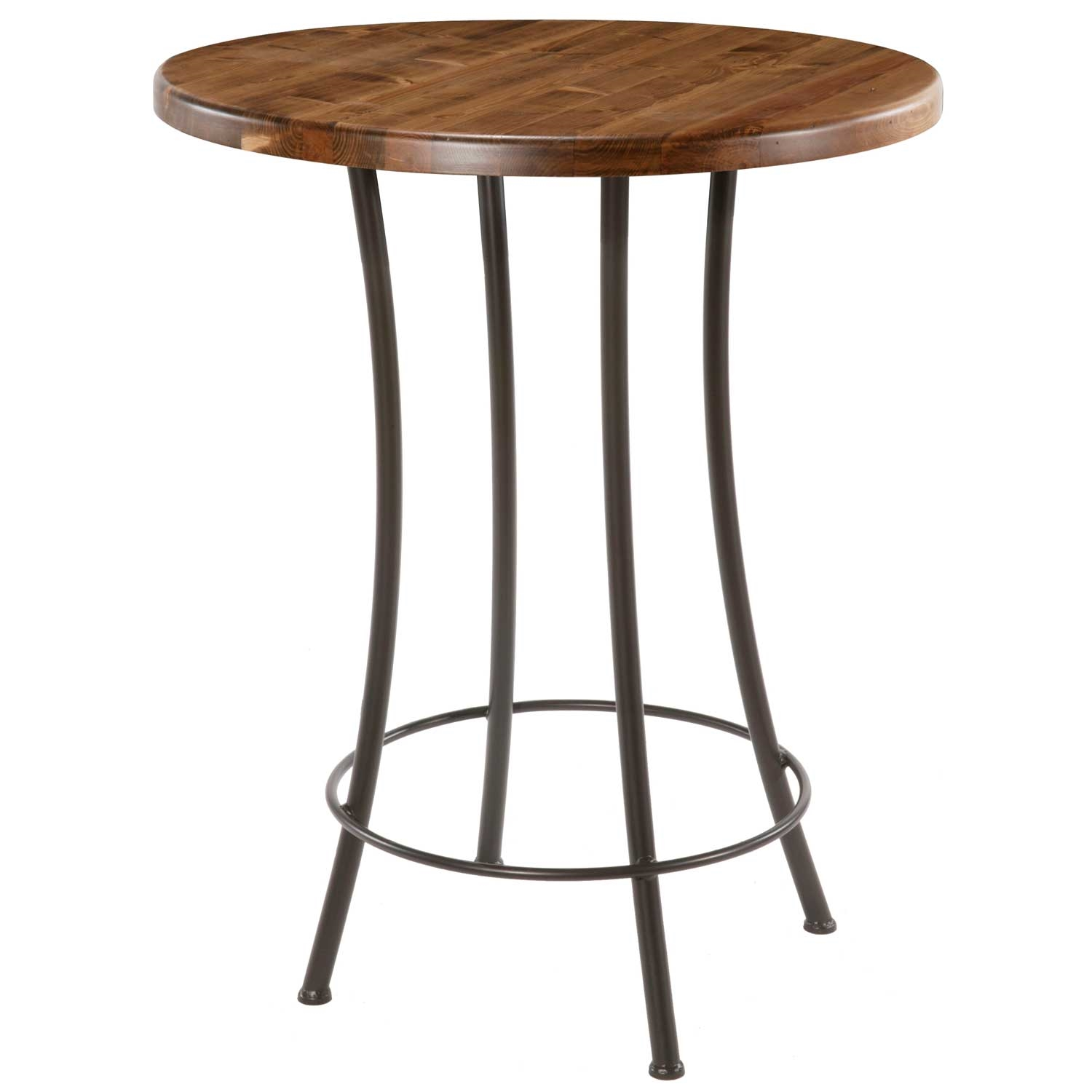 Pictured Here Is The Bistro Counter Height Table With A Clean Black Wrought  Iron Base And