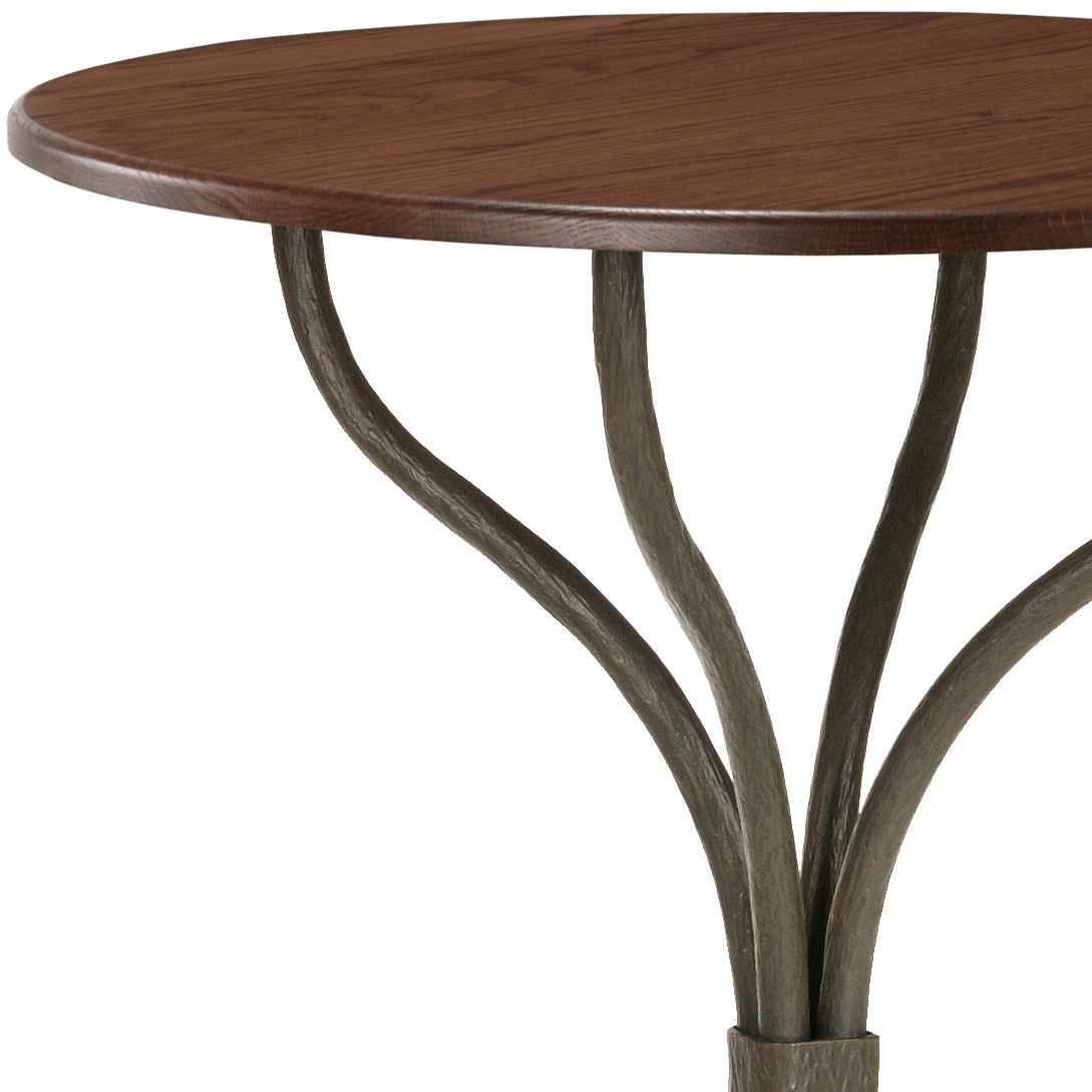 Cedarvale Bar Height Table with 30 in Round Top