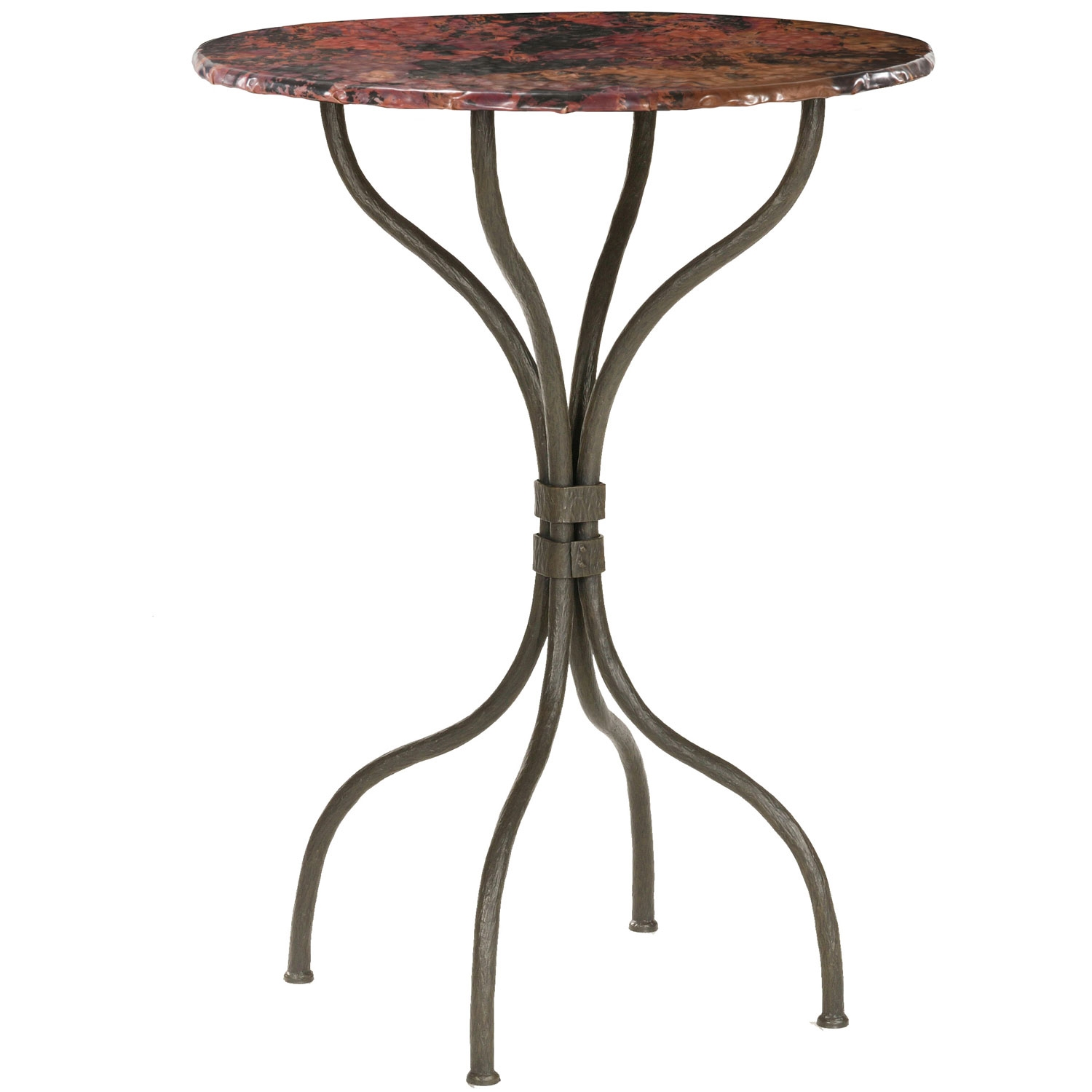 Strange Wrought Iron Cedarvale Counter Height Table 30 Round Top Download Free Architecture Designs Embacsunscenecom