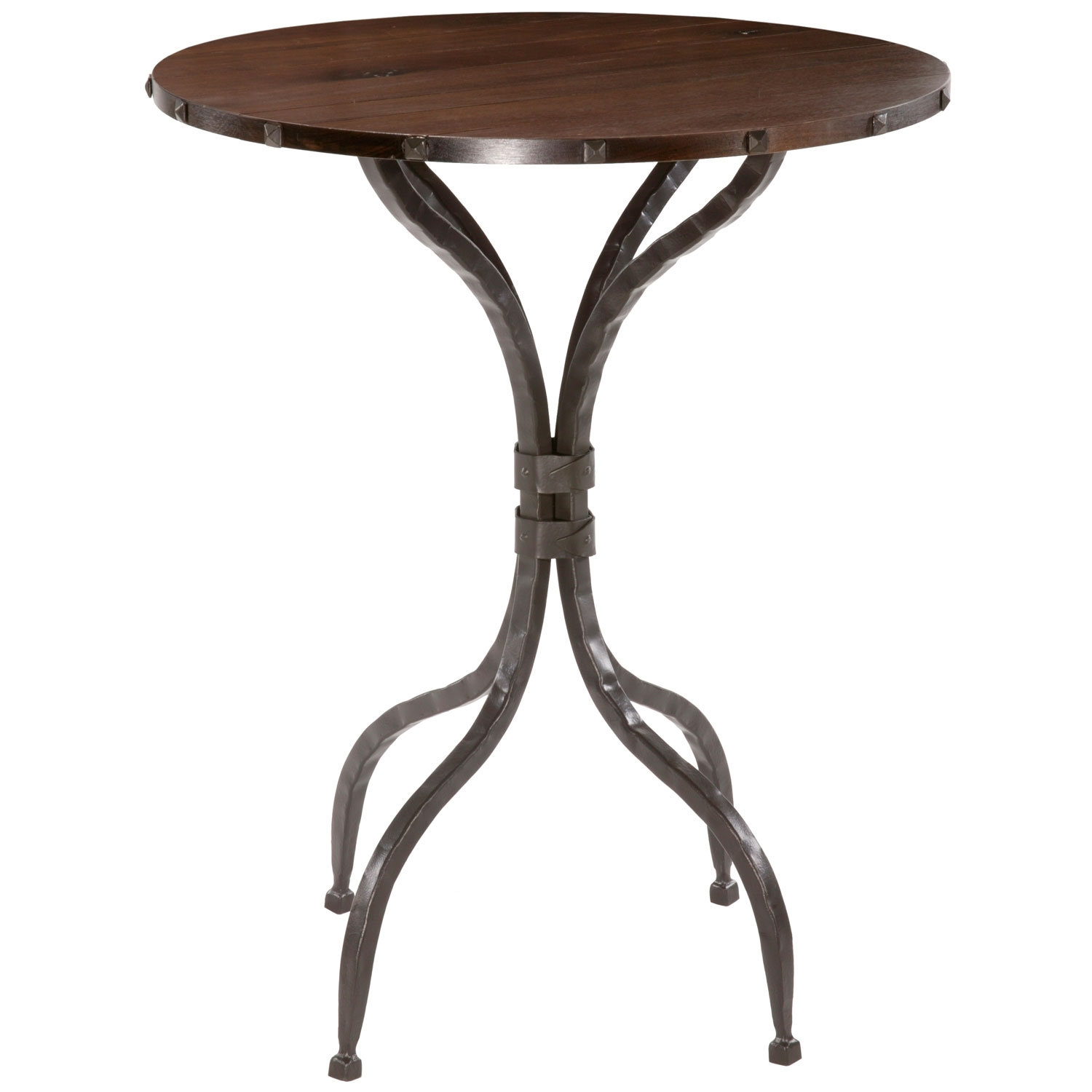 Phenomenal Wrought Iron Forest Hill Counter Height Table 42In Round Top Download Free Architecture Designs Embacsunscenecom