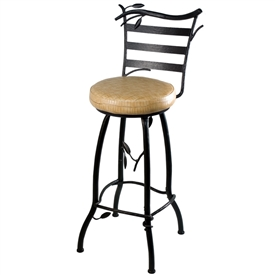 "Green Forest 25"" Round Barstool"