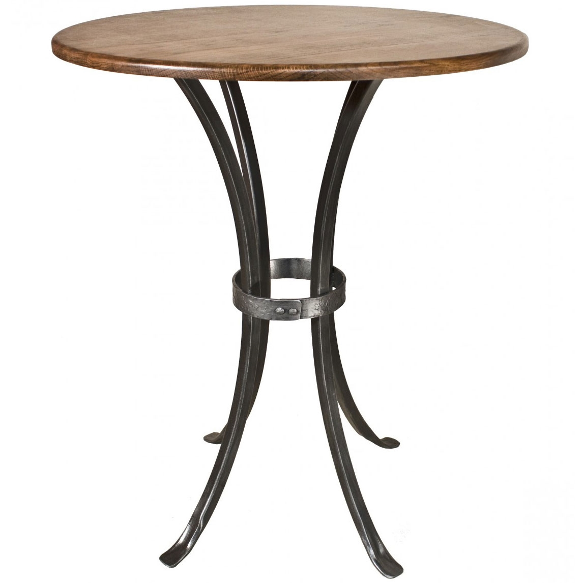 Wrought Iron Bar Table Montage Height 30