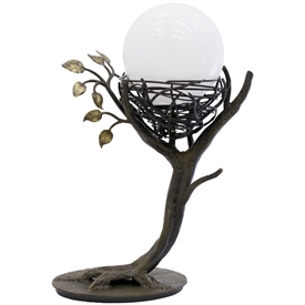 Pictured here is the Enchanted Forest Table Lamp.