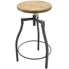 Cardiff Adjustable Stool | 25-in to 30-in