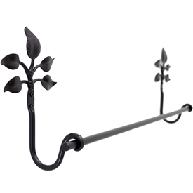 Eden Isle 24-inch Iron Towel Bar