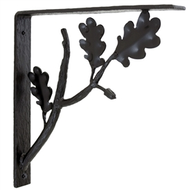 Pictured here is the hand-forged Oakdale Wrought Iron Corbel
