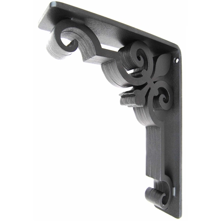 "Charlotte Wrought Iron Corbel | 2"" Wide"
