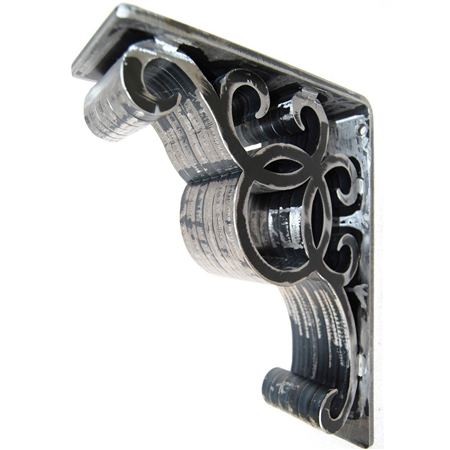 "Jillian Wrought Iron Corbel | 3"" Wide"