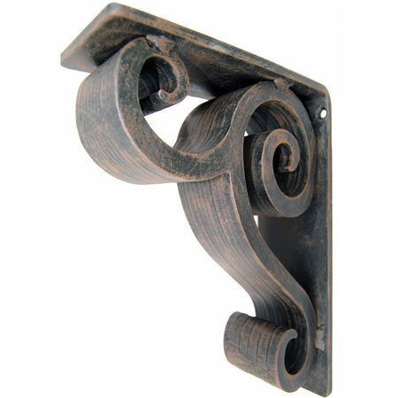 "Linley Wrought Iron Corbel | 3"" Wide"