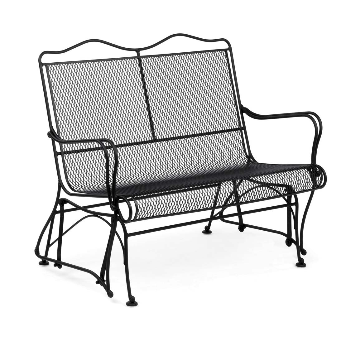 buy the tucson mesh high back gliding chair for your outdoor living